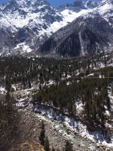 The valley of the Baspa River on the way to Chitkul issues a call as powerful as any to explore the wilderness. Photo: sanjay mukherjee
