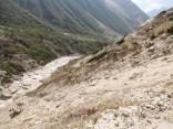 Some treacherous sections of the route; Photo: Abhishek Kaushal
