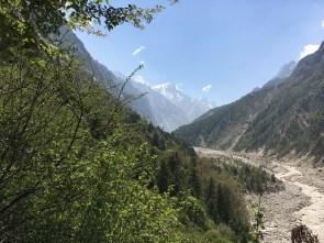 Sight of Mount Thelu from Chidwasa; Photo: Abhishek Kaushal