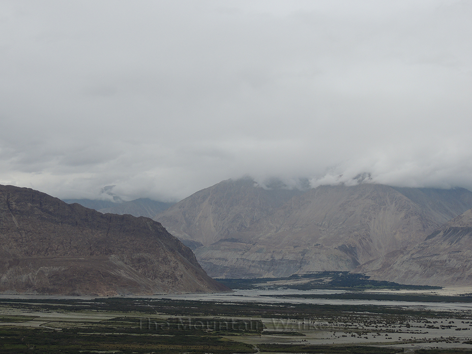 Shyok and Nubra rivers are tributaries of the Indus river which converge in the Nubra valley; Photo: Abhishek Kaushal