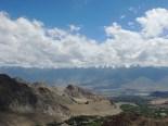 Approaching the downhill twists and turns before Nubra valley; Photo: Abhishek Kaushal