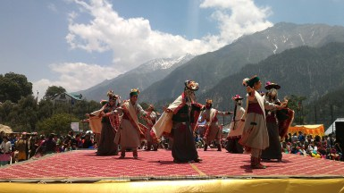 A traditional dance; Photo: Abhinav Kaushal.