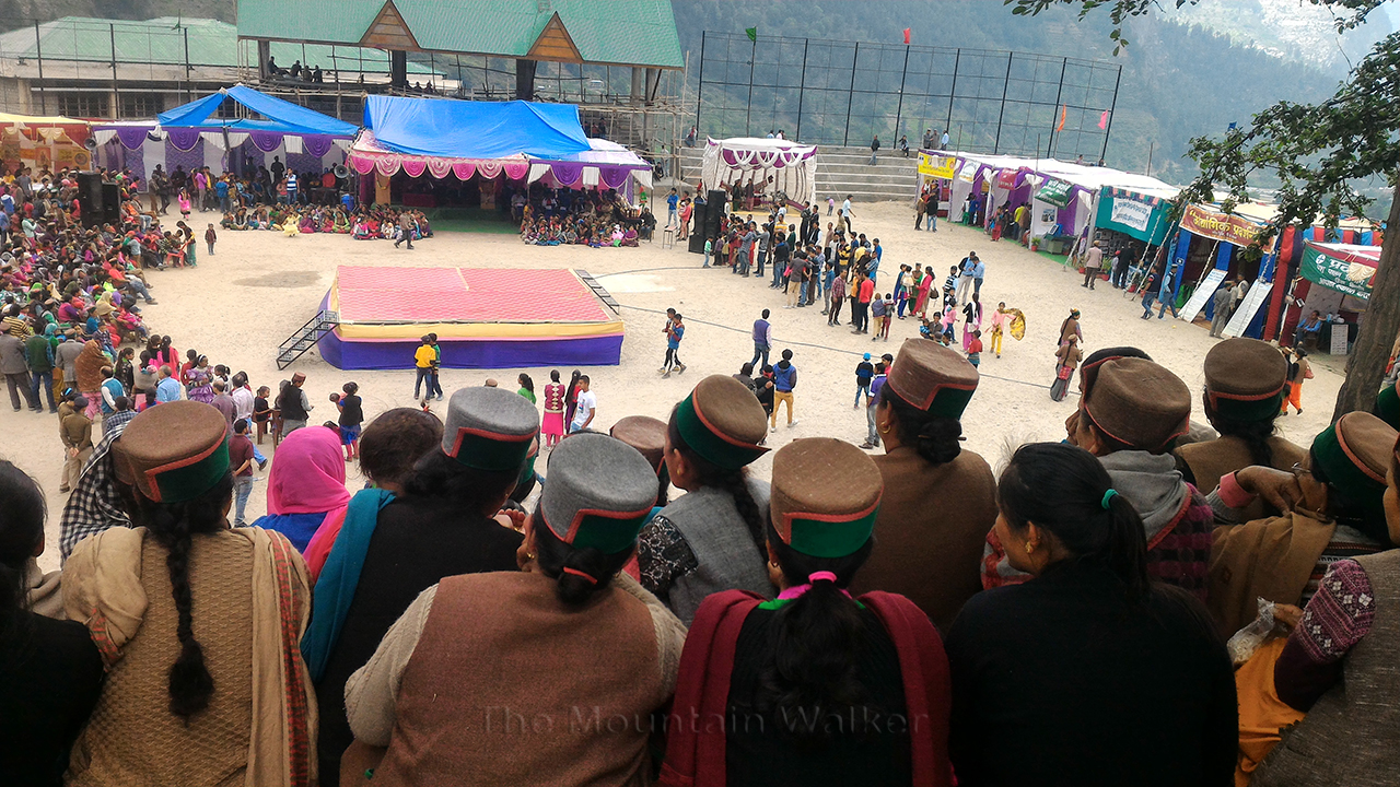 A big crowd had turned up for the last day of the Festival. Photo: Abhinav Kaushal.