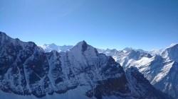 Mount Koteshwar as seen from the summit of Mount Thelu; Photo: Guneet Puri