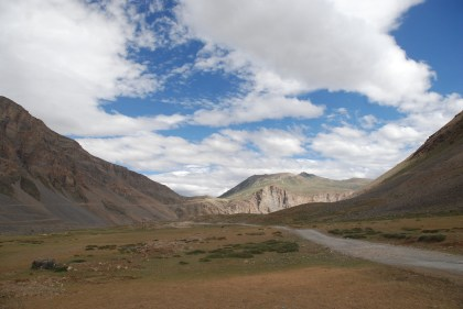 The Big Field before Losar; Photo: Abhinav Kaushal