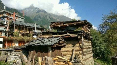 View of Kafnu village; Photo: Ameen Shaikh
