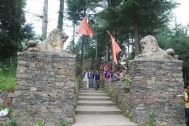 Bhadrakali temple entrance; Photo: Abhinav Kaushal