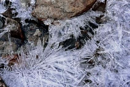 Ice Formations; Photo: Suresh Narayanan