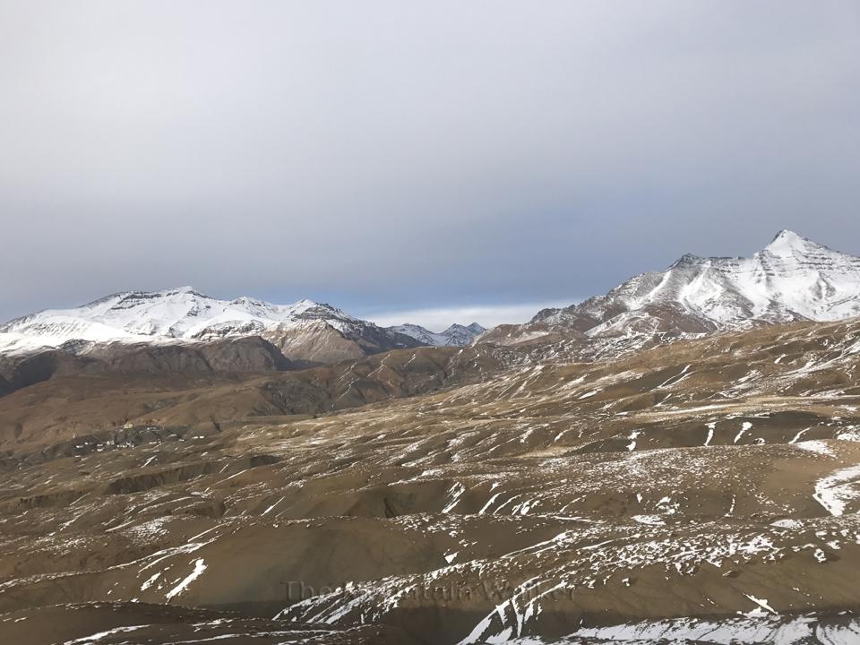 Kangmo peak and Chachochang peak together