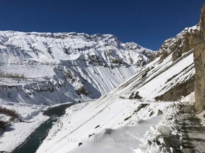 The view of the valley towards Kaza; Photo: Abhinav Kaushal
