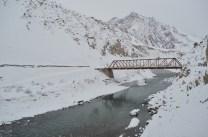The Mane bridge over the Spiti river; Photo: Abhinav Kaushal