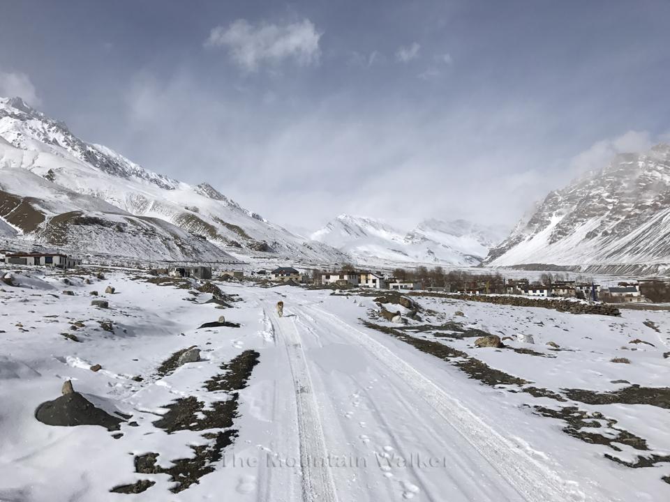 The village Khurik in winters; Photo: Abhinav Kaushal