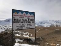 The world's highest Motorable village Komic