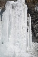 Ice formation after a Kilometers from Tabo; Photo: Abhinav Kaushal