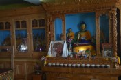The prayer room at Sakya