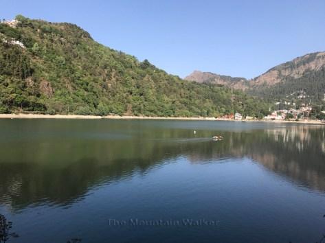View towards Naina Mata temple at Nainital; Photo: Abhinav Kaushal