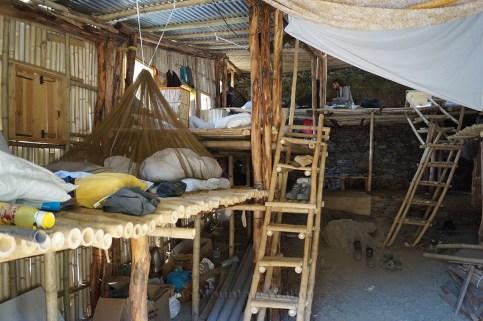 Everyone's out of the Bamboo Loft; Photo: Tanya Munshi