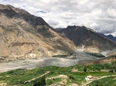 Confluence of Pin and Spiti Rivers; Photo: Ravindra Nath Tiwari