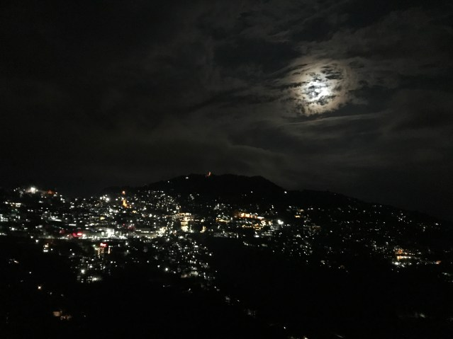 Shimla by Moonlight