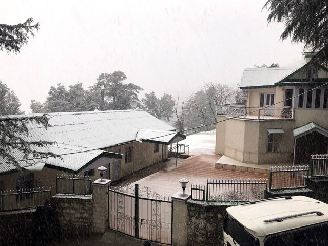 WM Shimla First 2018 Snowfall 01