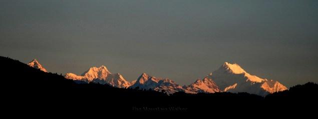 Sunrise on Kanchenjunga; Photo: Swarjit Samajpati
