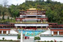 Ramtek Monastery, Gangtok, East Sikkim; Photo: Swarjit Samajpati
