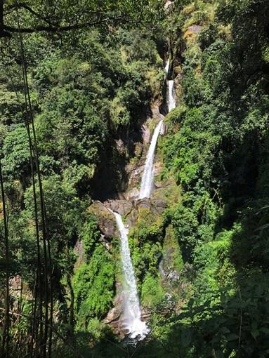Seven Sister Waterfalls, North Sikkim; Photo: Swarjit Samajpati