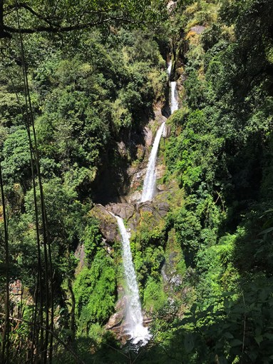 Seven Sister Waterfalls, North Sikkim; Photo: Swarjit Samajpati