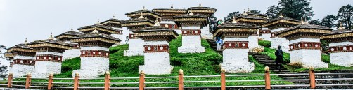 Druk Wangyal Chortens, Dochula Pass, Bhutan; Photo: Swarjit Samajpati