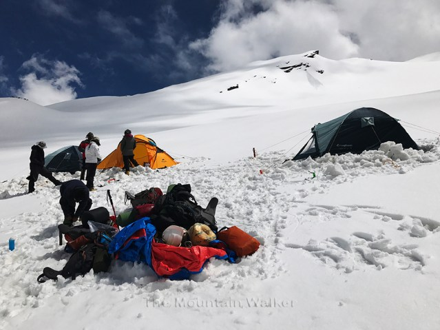 WM Gangotri-III Summit Camp 09