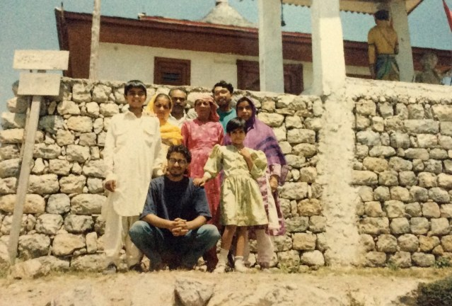 This is a 1992 photograph of the Mountain Walker COO, Ameen Shaikh, atop the Shaali Tibba. Ameen was 11-years-old at the time,