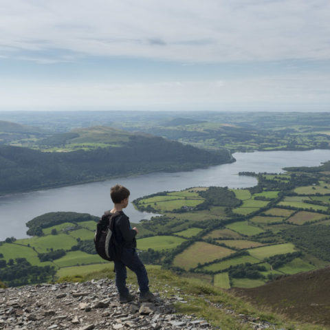 Bassenthwaite from Ullock Pike
