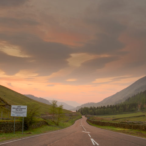 Reopening of the A591 at Dunmail Raise