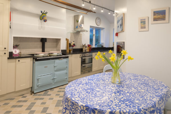 The heart of The Mount - its kitchen