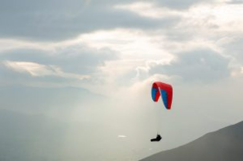 Paragliding in the lakes