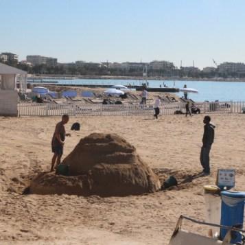 Joli chateau de sable!!!