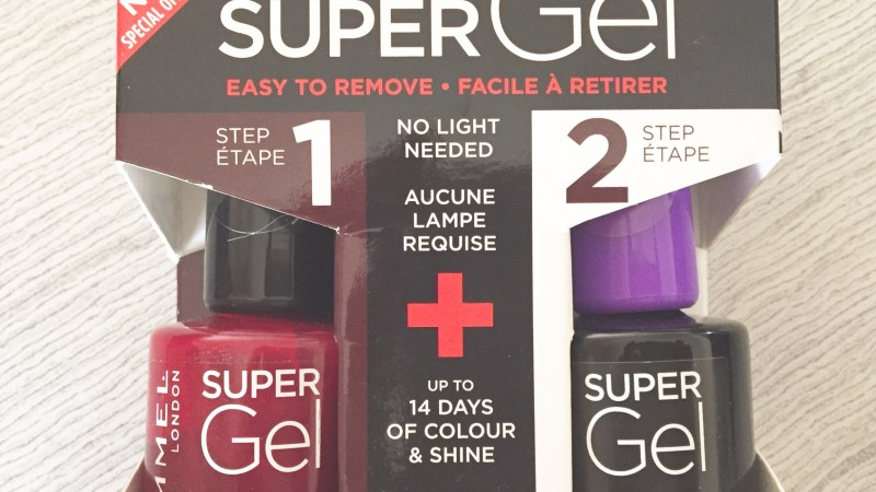 Les tests de TheMouse: Rimmel Super Gel