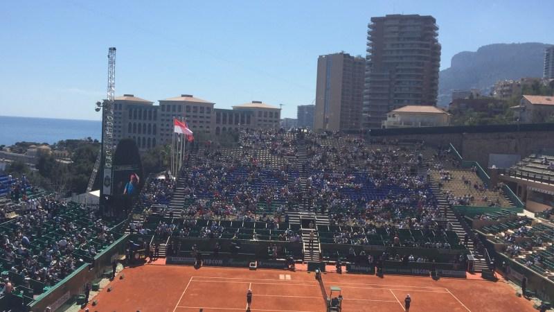 TheMouse au tournoi de tennis ATP Masters 1000 Monte-Carlo Rolex Masters, 11 avril 2016