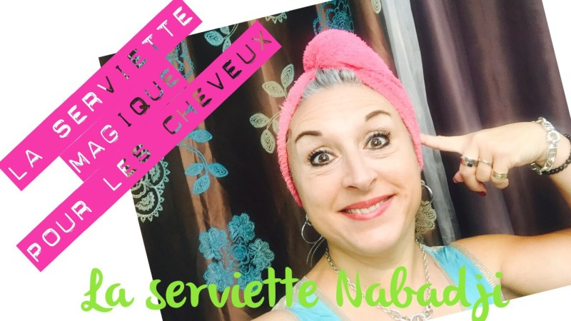 TheMouse sur YouTube: Ma serviette magique pour les cheveux!