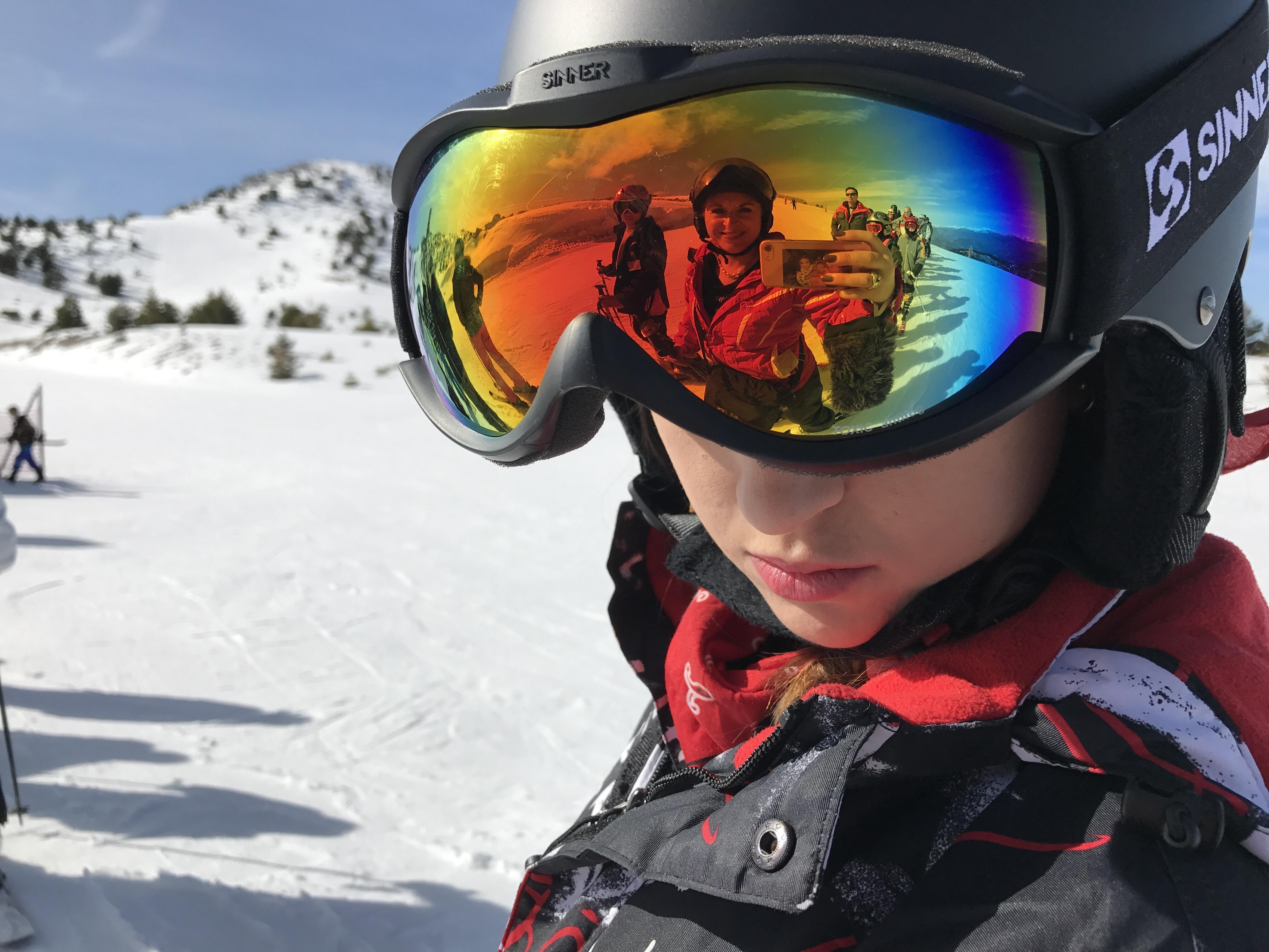Une journée de ski à Gréolieres les neiges…