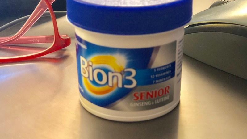 À la sortie de l'hiver, je prends bien plus que des vitamines: Bion 3 senior