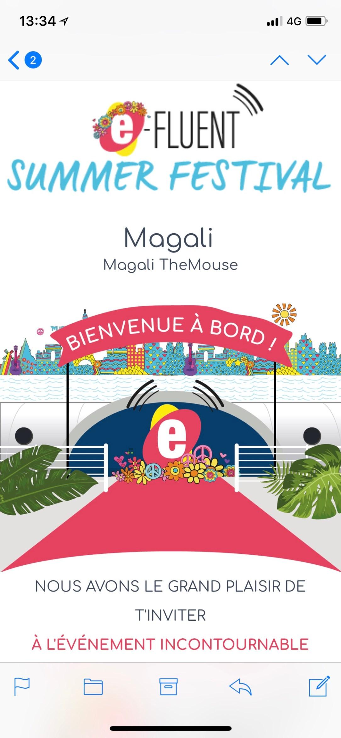 Magali TheMouse quiqua Efluent