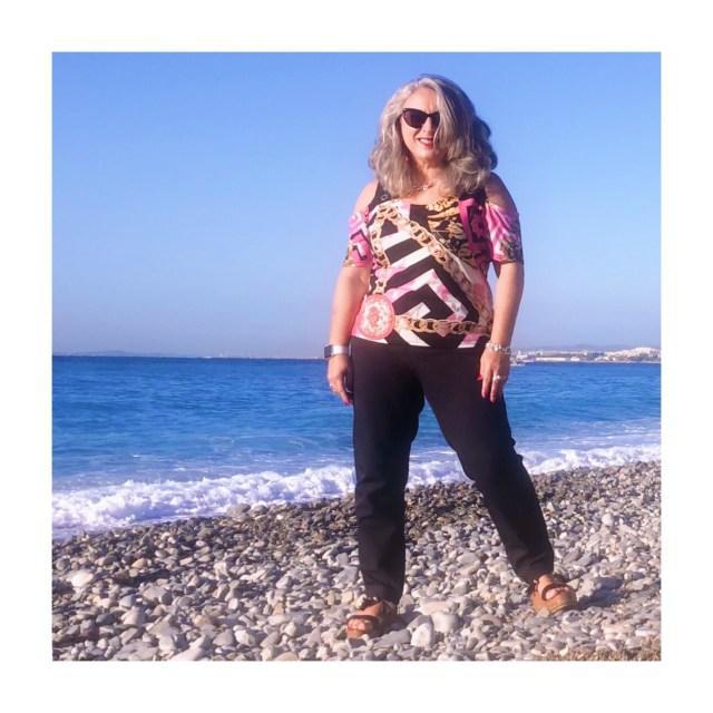 Idée look, Fashion, 50 ans, quinqua, mode, tendances, Armani, Italie Bleudazur,