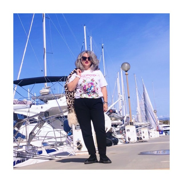 50 ans, veste, tendances, Megève, quinqua, laine, féline, Christian Audigier, ed Hardy, idee look, Fashion, Mode, port vauban, antibes, leopard,