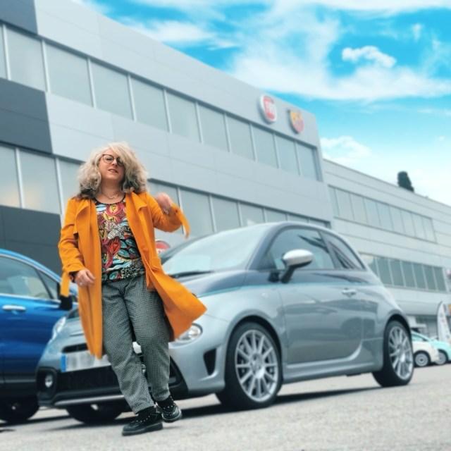 Idée look, Fashion, 50 ans, quinqua, mode, tendances, Teambeautesmajuscules, Abarth, rivale, révision, voiture, Bleud'azur, Jennyfer, inuovo, cache-cache