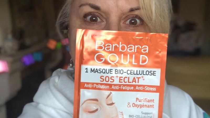 Test du masque SOS éclat de Barbara Gould