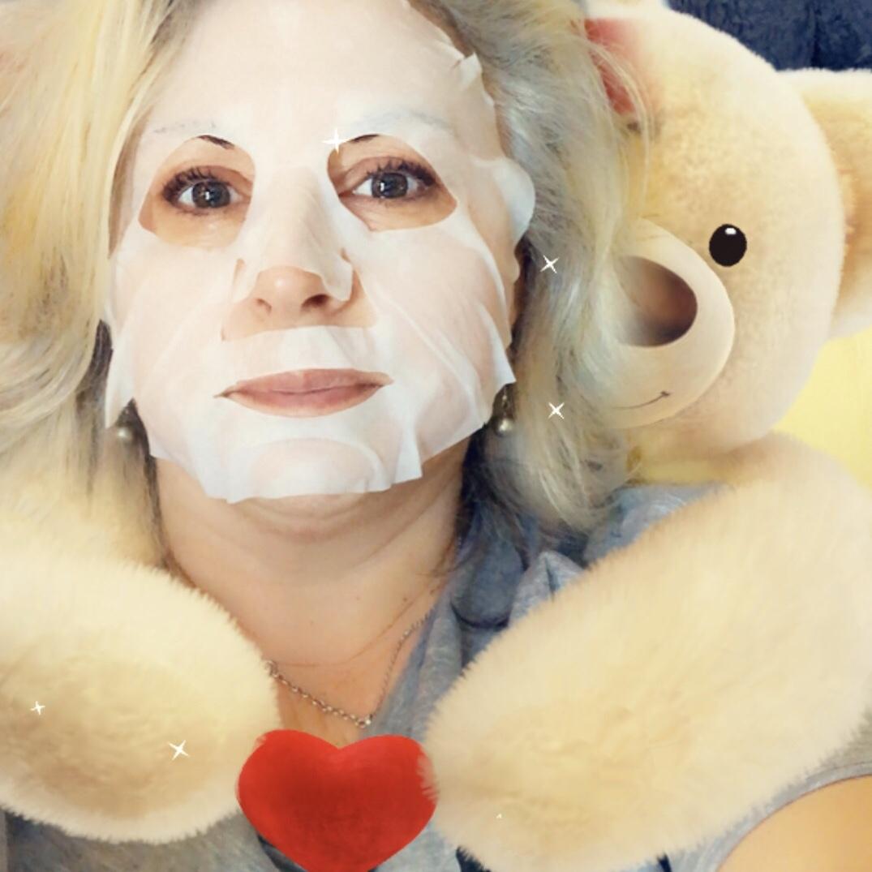 Je teste le masque en tissu coup d'éclat Labell
