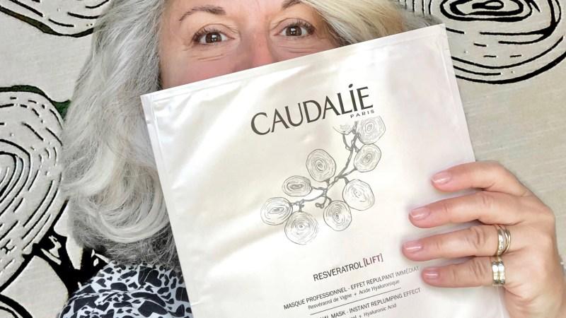 Masque Professionnel Caudalie au resveratrol et acide hyaluronique