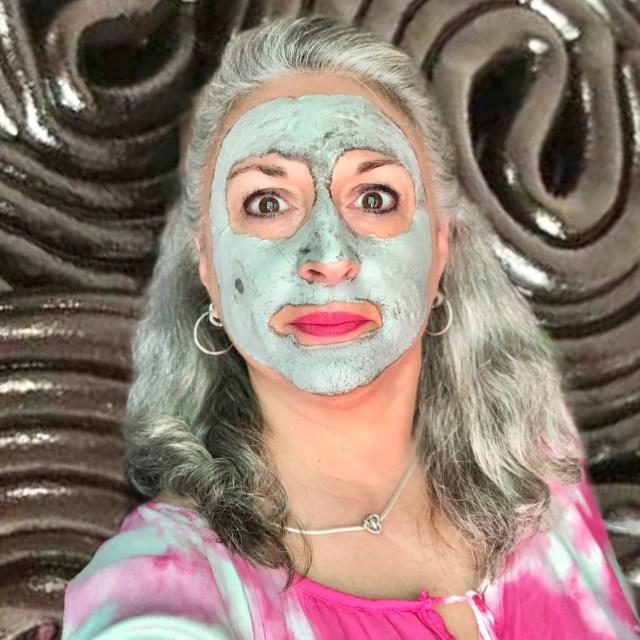 beauty, silverhair, silversisters, makeupgeek, maskchallengeunecitadine, makeup, mask, masque, argile, hema, réglisse, sel de la mer morte