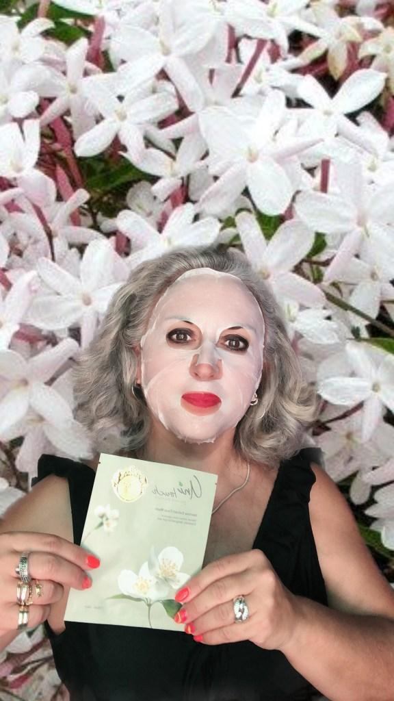 beauty, silverhair, silversisters, makeupgeek, maskchallengeunecitadine, makeup, mask, masque, unitouch, sincell, eau marine, jasmin, euphrasia